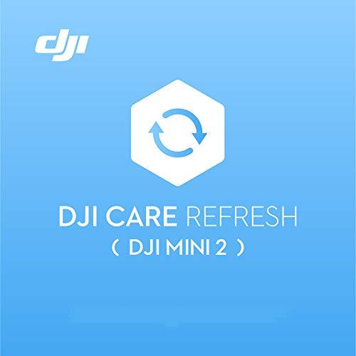 DJI Mini 2 Care Refresh (1 Anno), Garanzia per DJI Mini 2, fino a Due Sostituzioni Entro 12 Mesi, Supporto Rapido, Copertura Contro gli Incidenti e i Danni Causati dall'Acqua, Attivato Entro 48 Ore