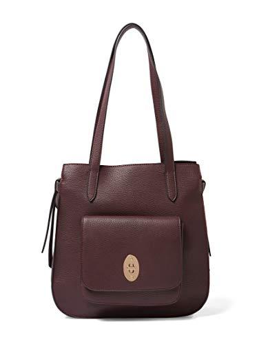 TOM TAILOR Damen Taschen & Geldbörsen Shopper Krystal bordeaux/wine,OneSize,C048,4000