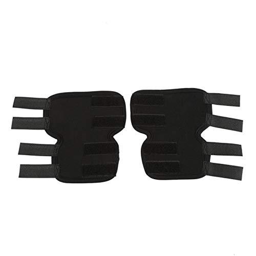SALUTUYA Ortesis para Perros, Material SBR, protección contra heridas, súper Apoyo(Black, M Code)