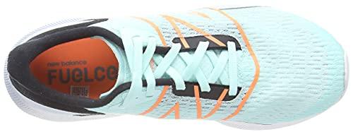 New Balance Women's FuelCell Propel v2 Road Running Shoe, White Mint, 5.5 UK