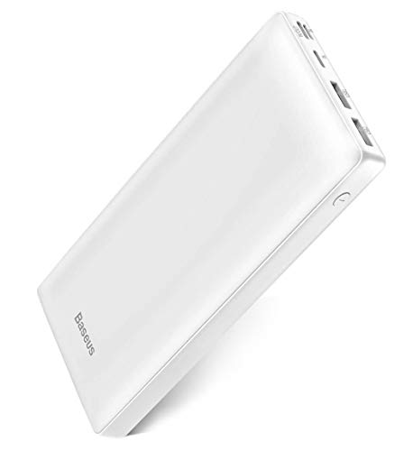 USB C Fast Battery Pack Charger, Baseus Portable Power Bank 30000mAh, 3 Output Port Charger for iPhone 12 Pro Max, Samsung S20, Android Phones, iPad, Nintendo Switch