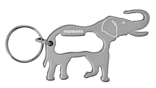 munkees Schlüsselanhänger Elefant-Anhänger Flaschenöffner, 3437