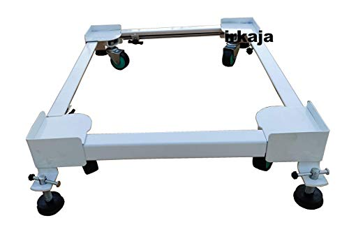 Irkaja Heavy Duty Front/Top Load Washing Machine Stand Trolley for 5kg, 5.5kg, 5.8kg, 6kg, 6.2kg, 6.5kg, 6.8kg, 7kg, 7.2kg, 7.5kg,...