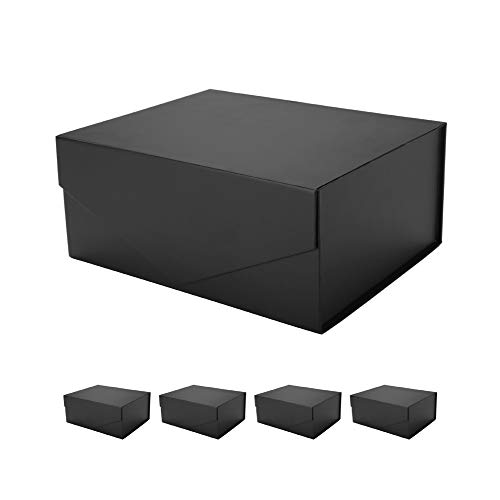 PACKHOME 5 Gift Boxes 9.5x7x4 Inches, Groomsman Boxes, Rectangle...
