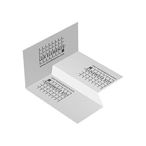 LUX ELEMENTS Cinta de sellado (derecha) para caída unilateral, DRY-DBIE LINE R LDRYZ2105.R, color blanco
