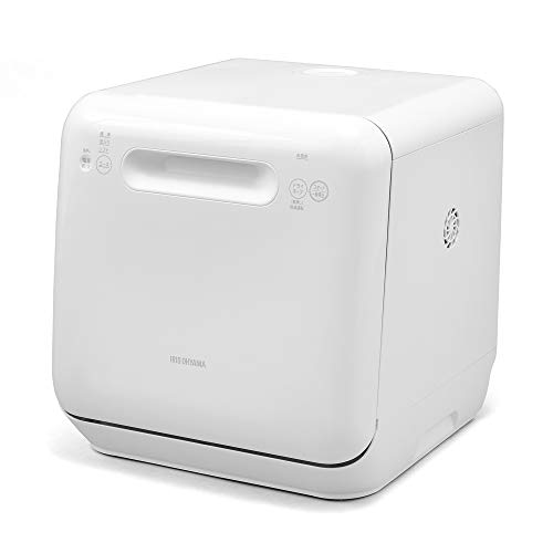アイリスオーヤマ 食洗機 食器洗い乾燥機 工事不要 コンパクト 上下ノズル洗浄 メーカー保証 ホワイト ISHT-5000-W