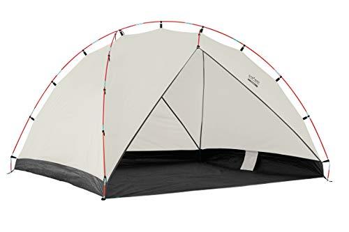 Grand Canyon TONTO BEACH TENT 3 - Tente de plage / coquille de plage 210 x 160 cm - Tente dôme, UV50+, étanche - Désert de Mojave (beige)