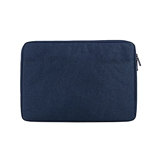 Festnight Bolsa para Tableta portátil Funda de Nylon Impermeable para Tableta de 7 Pulgadas Maletín Multifuncional para Negocios y Ocio Azul Marino