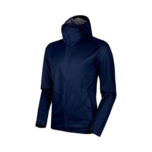 Mammut Herren Ultimate V Tour Softshell-Jacke, Peacoat Melange, XL