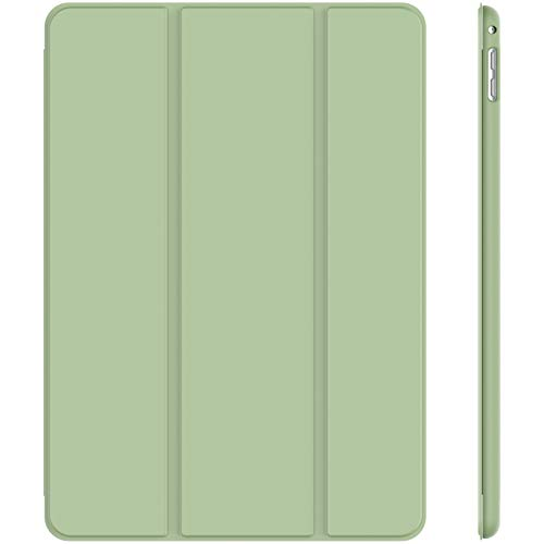 JETech Hülle Kompatibel iPad Mini 4, Schutzhülle mit Ständer Funktion und Auto Schlafen/Wachen, Matcha Grün