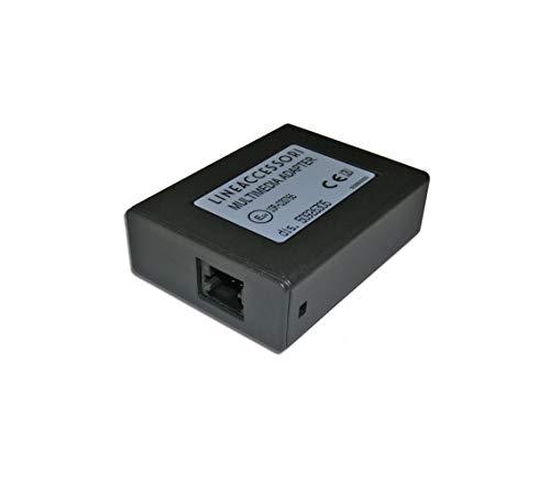 Linea Accessori Metasystem Multimedia Adapter 50926305 Adattatore Audio Vettura USB AUX Compatibile con iPod Compatibile con iPhone Interfaccia Autoradio Originale Compatibile Con Fiat Lancia Alfa