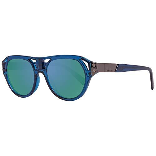 Diesel Sonnenbrille DL0233 5190X Rechteckig Sonnenbrille 51, Blau