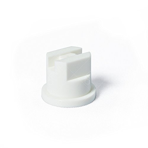 10 Pack Tefen White Nozzles 110 Degree Standard Flat Fan Spray Tip (5NF65005WH)