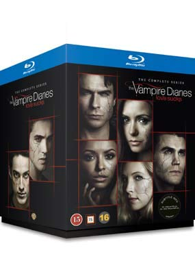 The Vampire Diaries (The Complete Series 1-8) - 30-Disc BoxSet ( The Vampire Diaries - Seasons One to Five ) [ Blu-Ray, Reg.A/B/C Import - Denmark ]