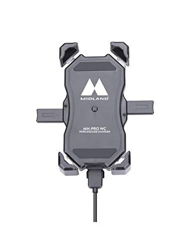 Cargador de Moto para mobiles- con Carga inalámbrica | MH-Pro WC