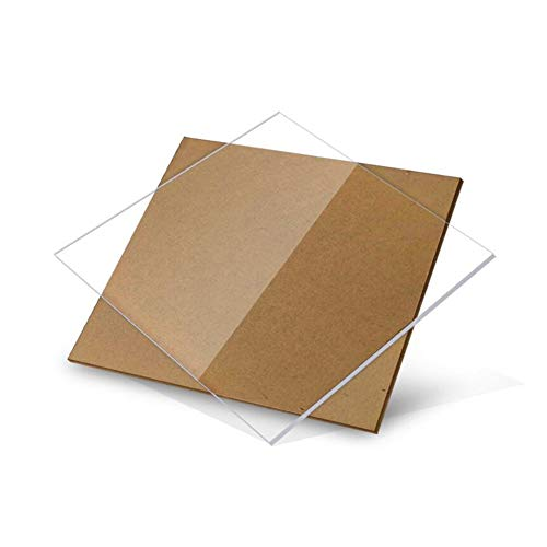 SZQL Acryl Blatt Transparent Brett Shutter Hardware Blech-Werkzeug Acryl Plexiglas,250x200mm