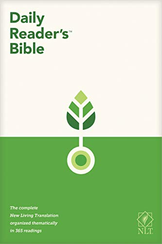 Compare Textbook Prices for NLT Daily Reader's Bible Red Letter, Softcover  ISBN 9781496448286 by , Tyndale