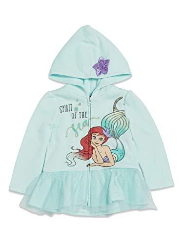 Disney Princess Ariel The Little Mermaid Toddler Girls Costume Hoodie 3T