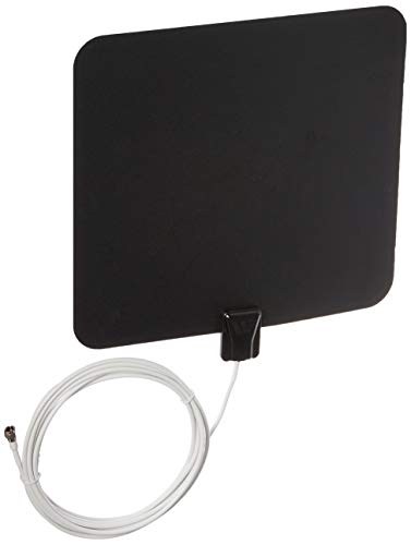 Winegard FL-5000 FlatWave Digital Indoor HDTV Antenna (4K Ready / High-VHF / UHF / Ultra-Thin), 35 Mile Long Range