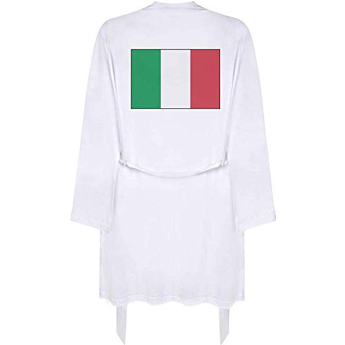 Azeeda Klein 'Italienische Flagge' Erwachsene Dressing Robe / Kleid (RO00012043)