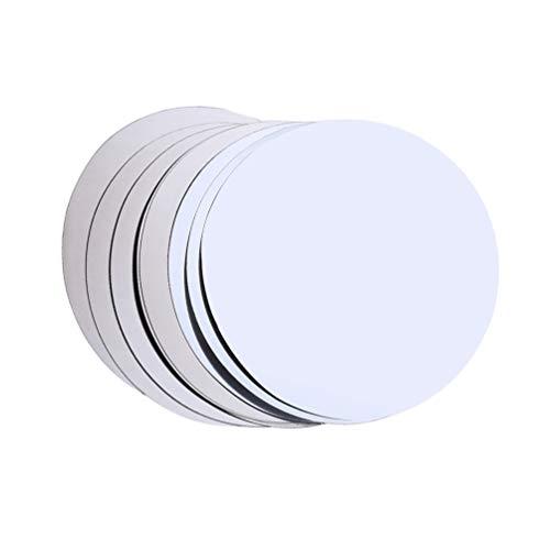 Hemoton 6 piezas Drop Stop vino vertedor de vino lámina de aluminio flexible antigoteo (plata)