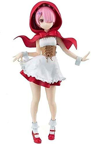 Ram Figur Null Start Leben in Einer Anderen Welt Figur Japan Rotkäppchen 20CM Charakter Modell Geschenk Anime Geschenke Spielzeug Modellbausätze