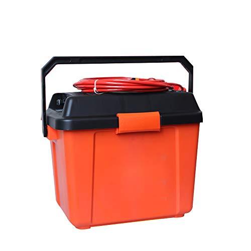 Rondelle de pulvérisation, compact laveuse à pression électrique, 12V prise de voiture avec des conduites d'eau de réception, boîte de collecte de pêche, boîte de rangement de la queue