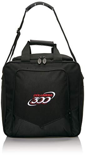 Columbia 300 weiß Dot Single Bowling Bag, C108-02, Schwarz, Einheitsgröße