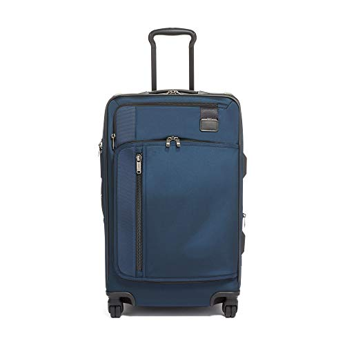 TUMI - Merge Short Trip Expandable Packing Case Medium Suitcase - Rolling Luggage for Men and Women - Navy