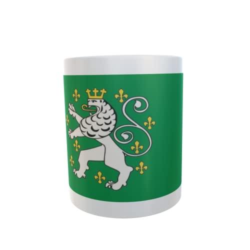 U24 Tasse Kaffeebecher Mug Cup Flagge Schleiden