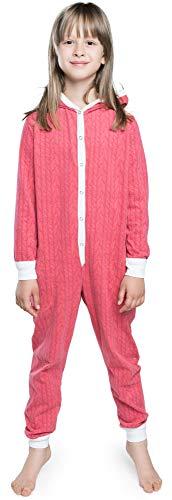 Italian Fashion IF Italian Fashion IF Pyjama für Mädchen, Winter, Baumwolle (12 Jahre, Himbeere)