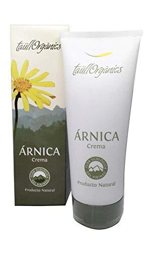 Taull Organics - Crema de Árnica Eco 200ml | Arnica Montana | Antiinflamatorio Natural | para Dolor Muscular, Espalda, Cuello y Cervicales | Ecológico