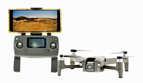 MJX Brushless GPS Drone with 4MP Camera 0.5 Mile Range, RTH, Follow me, Way Point Programming, Gray