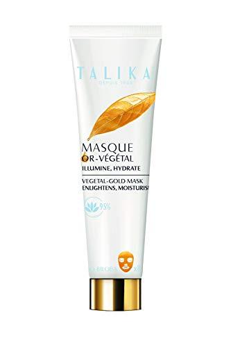 Vegetal-Gold Mask - Talika - Regenerierende Goldmaske - Antioxidative und beruhigende Pflege - Alle Hauttypen - Strahlend schöne Haut in nur 10 Minuten