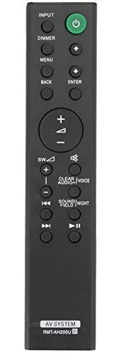 ALLIMITY RMT-AH200U Control Remoto Reemplazar por Sony AV System HT-CT390 SA-CT390 SA-CT390 HT-RT3 SA-WRT3 SS-RT3