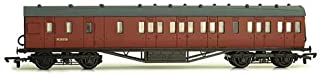 OO Gauge Stainer 57ft brake coach in BR Carmine Red Livery unlined