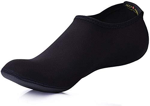 JACKSHIBO Herren Damen Barfuß Wasser Schuhe Unisex Aqua Shoes für Strand Schwimmen Surf Yoga Jungen Mädchen