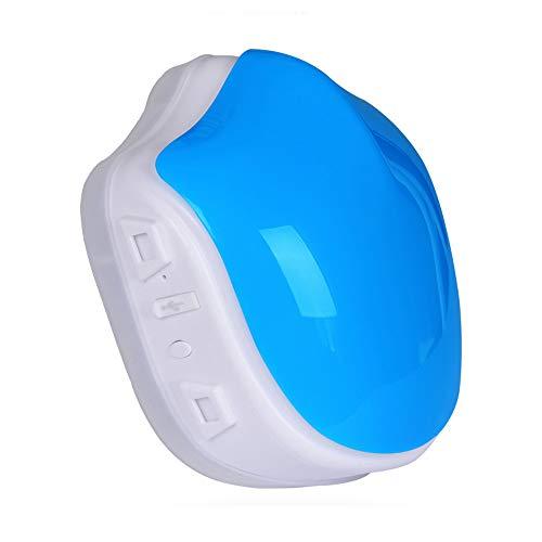 QWERTOUY Máscara Inteligente eléctrica Polvo purificador de...