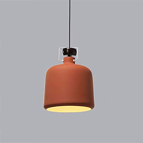 TJZY Nordic Wrought Iron Chandelier, Stylish Led Chandelier Adjustable Dining Table Chandelier Ceiling Light Green/Red/White Bedroom Bedside Lamp gfhgf/B