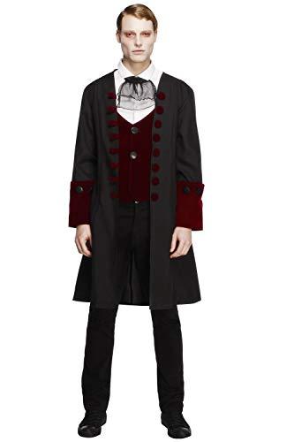 Para hombre disfraz de Halloween sexy vestido de vampiros macho fiebre gtico Vamp Costume