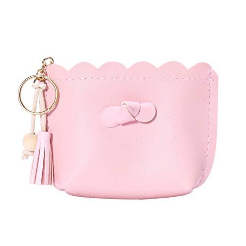 Dosige Madame Simple - Portamonete solido, colore alla moda, con zip, Rosa (Rosa) - J45Q22701MOOZ5Q1Q4