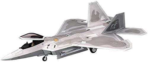 ハセガワ 1/48 アメリカ空軍 制空戦闘機 F-22 ラプター プラモデル PT45