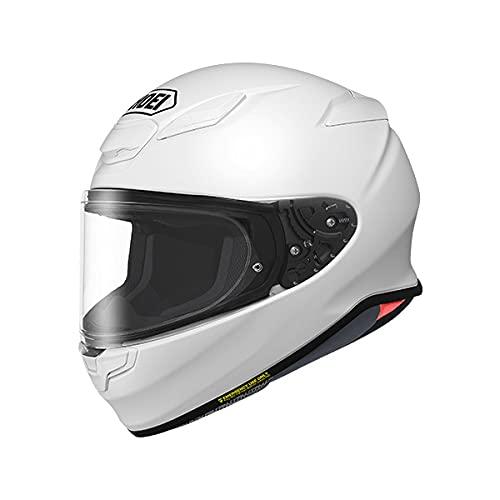 SHOEI ヘルメット Z-8 新型 フルフェイス Z8 バイク メンズ レディース かっこいい おしゃれ シンプル 単色 公道 ツーリング 通販 カラー:ルミナスホワイト サイズ:M