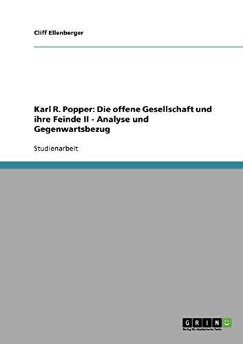 Analyse und Gegenwartsbezug von Karl R. Poppers
