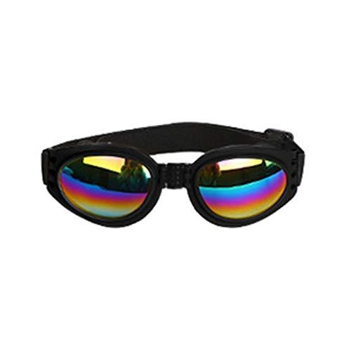 Migvela Occhiali da Sole alla Moda Cani Occhiali da Sole Antivento Occhiale da Sole UV Proteggi Accessori per Occhiali da Sole per Cani Resistenti al