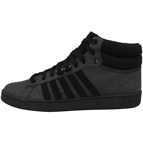 K-Swiss Herren Hoke MID CMF Hohe Sneaker, Schwarz (Black/Black 001), 45 EU