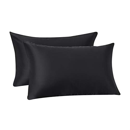 Luxury Plain Dyed 200TC 100/% Egyptian Cotton Pack of 2 Oxford Pillow Case Pair