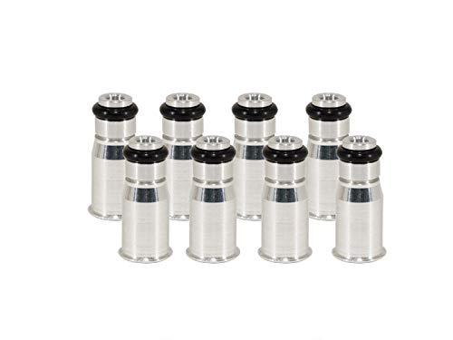 Michigan Motorsports 1.06 Fuel Injector Spacer Adapter LS3 LS7 Bosch 210 Injectors on LS1 LS6 Intake Fuel Rail