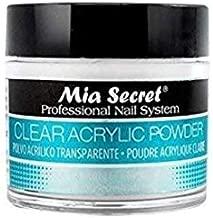 Mia Secret Professional Acrylic Nail System Clear Acrylic Powder (1 oz)