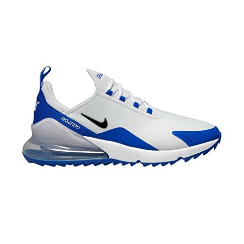 Nike Air MAX 270 G Zapatillas de Golf para Hombre (White/Balck-Racer Blue, Numeric_43)